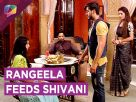 Rangeela Feeds Shivani | Shivani AGREES To Rangeela | Ghulam | Life Ok Video