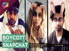 Enraged TV actors take a DIG at Snapchat! | India Forums Video