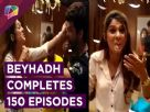 Cake Cutting on the sets of Beyhadh | 150 Episode Completion | India Forums Video