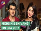 Mohsin Khan And Shivangi Joshi Talk About Their Performances At Star Parivaar Awards 2017 Video