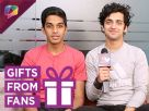 Sumedh Mudgalkar Unwraps Gifts From His Fans With Rohit Phalke And India Forums Video
