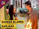 Sameer Blames Sanjana For Burning Their Clothes | Major Drama | Sasural Simar Ka | Colors Tv
