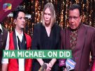 Mia Michael Visits The Sets Of Dance India Dance | Zee Tv