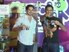 Dino Morea and MS Dhoni at the Launch of Cool Maal
