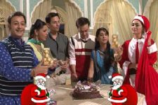 Christmas Celebration on the sets of Mrs. Kaushik Ki ...