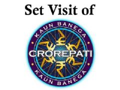 Set Visit of Kaun Banega Crorepati 2010