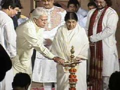 Lata Mangeshkar at National Festival Of Indian Classical Music and Dance