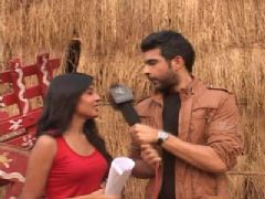 Interview with Karan Kundra and Kritika Kamra on the Sets of Kitani Mohabbat Hai 2 - Part 02