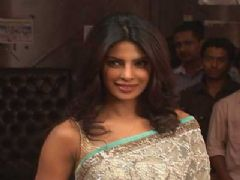 Priyanka Chopra on the set of Jhalak Dikhhla Jaa for the promotion of Movie 7 Khoon Maaf