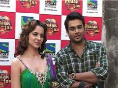Kangna and Madhavan promote Tanu Weds Manu on Jhalak Dhikla Jaa