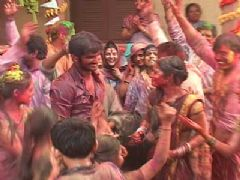 Holi Celebration on Pavitra Rishta