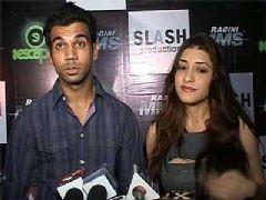 Actor Kainaz and Rajkumar talk on the movie Ragini MMS