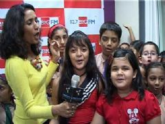 Saloni Daini and Ishita Panchal spread awareness through Big FM on Population Day