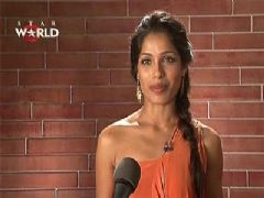 Freida Pinto on Indias Most Desirable - Behind the Scenes