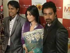 Ayesha, Rannvijay and Nagesh promote MOD at Libas Store