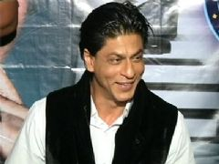 Shahrukh Khan on the set of KBC