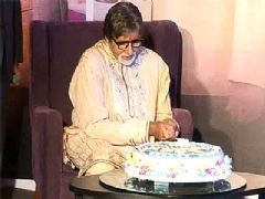 Birthday celebration of Amitabh Bachchan on KBC 5