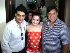 David Dhawan inaugurates Ameesha Patel production office