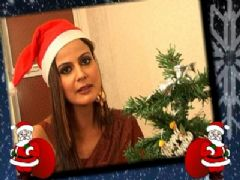 Nandini Singh Celebrates Christmas with IF