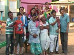 Promo Shoot of Sab TV's show LapataGanj