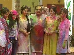 Holi Celebration on the sets of Shubh Vivah