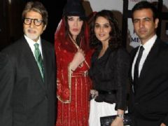 Preity Zinta at the launch of her productional venture - Ishq in Paris