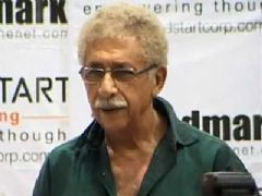 Naseeruddin Shah launches the book A Bolt of Lightning