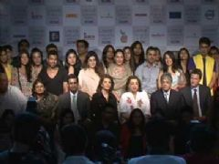 Press meet of 'Lakme Fashion Week 2012'