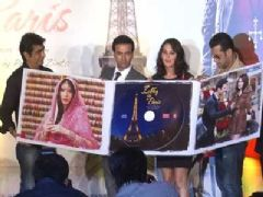Music Launch of Movie Ishkq in Paris