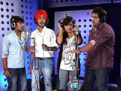 Indian Idol 6 Contestants Record a Special Song