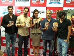Music launch of Movie Chakravyuh