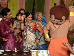 Naksh's 1st birthday celebration on Yeh Rishta Kya Kehlata Hai