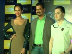 Esha Gupta at National Geographic Super Cars Season - 2 Press Conference