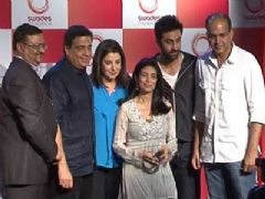 Ranbir Kapoor, Farah Khan and Ashutosh Gowariker at Swades Foundation new Logo Launch