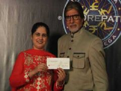 Sunmeet Kaur Sawhney becomes First Woman 5 Crore Winner on KBC