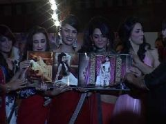 Telly celebs at the launch of label Womaniyaa