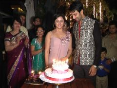 1st Wedding Anniversary Party of Rashmi and Nandish