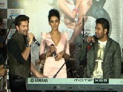 Neil, Sonal at '3G' music launch