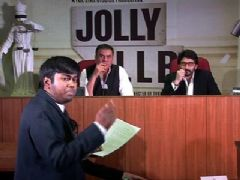 JOLLY LLB Movie Promotion at Rizvi College