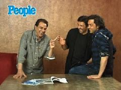 Dharmendra, Bobby and Sunny Deol Photoshoot for People Magazine Cover