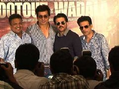 Anil Kapoor, Manoj Bajpayee and Sonu Sood at Shootout At Wadala Press Conference