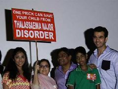 Celebs support to bring awareness about terminal disease Thalassemia