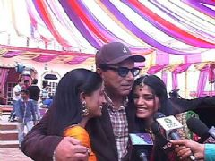 Dharmendra on the sets of Bani-Ishq Da Kalma for Yamla Pagla Deewana 2