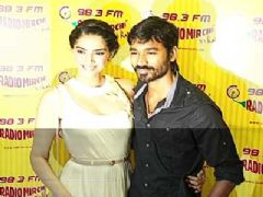 Dhanush and Sonam at Music launch of the film Ranjhana