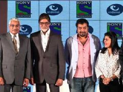 Big B and Anurag Kashyap at Sony TV's special series announcement