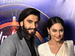 Sonakshi Sinha and Ranveer Singh promote 'Lootera' on 'India's Dancing Superstars'