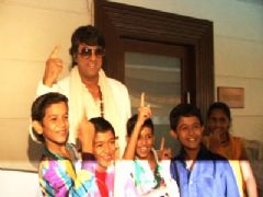 P.C of Shaktimaan with Mukesh Khanna
