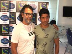 Farhan Akhtar For Bhaag Milkha Bhaag on Sony Tv's Indian Idol Junior