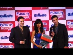 Arbaaz, Chitrangda and Rahul Dravid promote Gillette Future Power