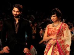 Telly celeb walk the ramp for a cause..